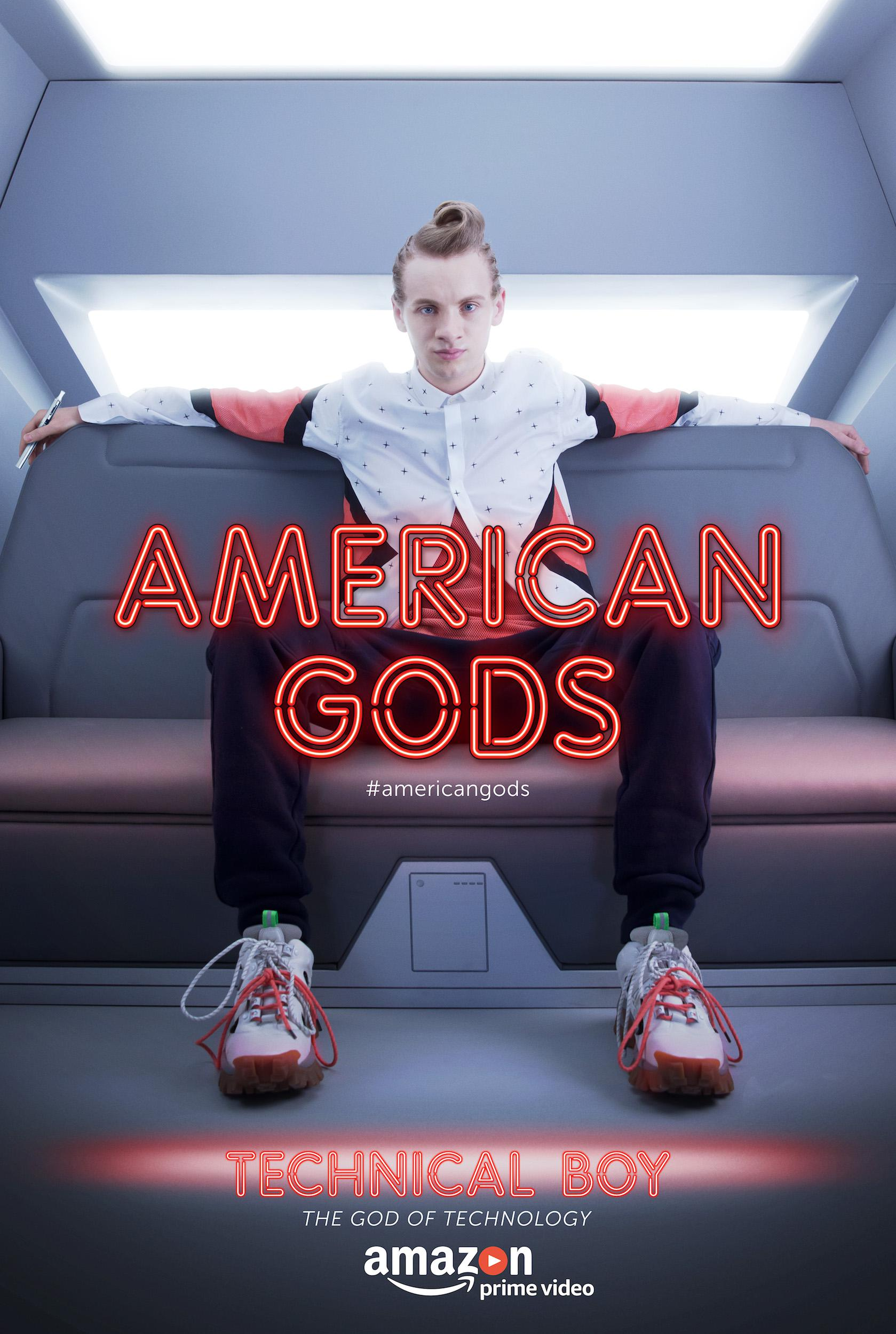 American Gods - Series - Bruce Langley as Technical Boy