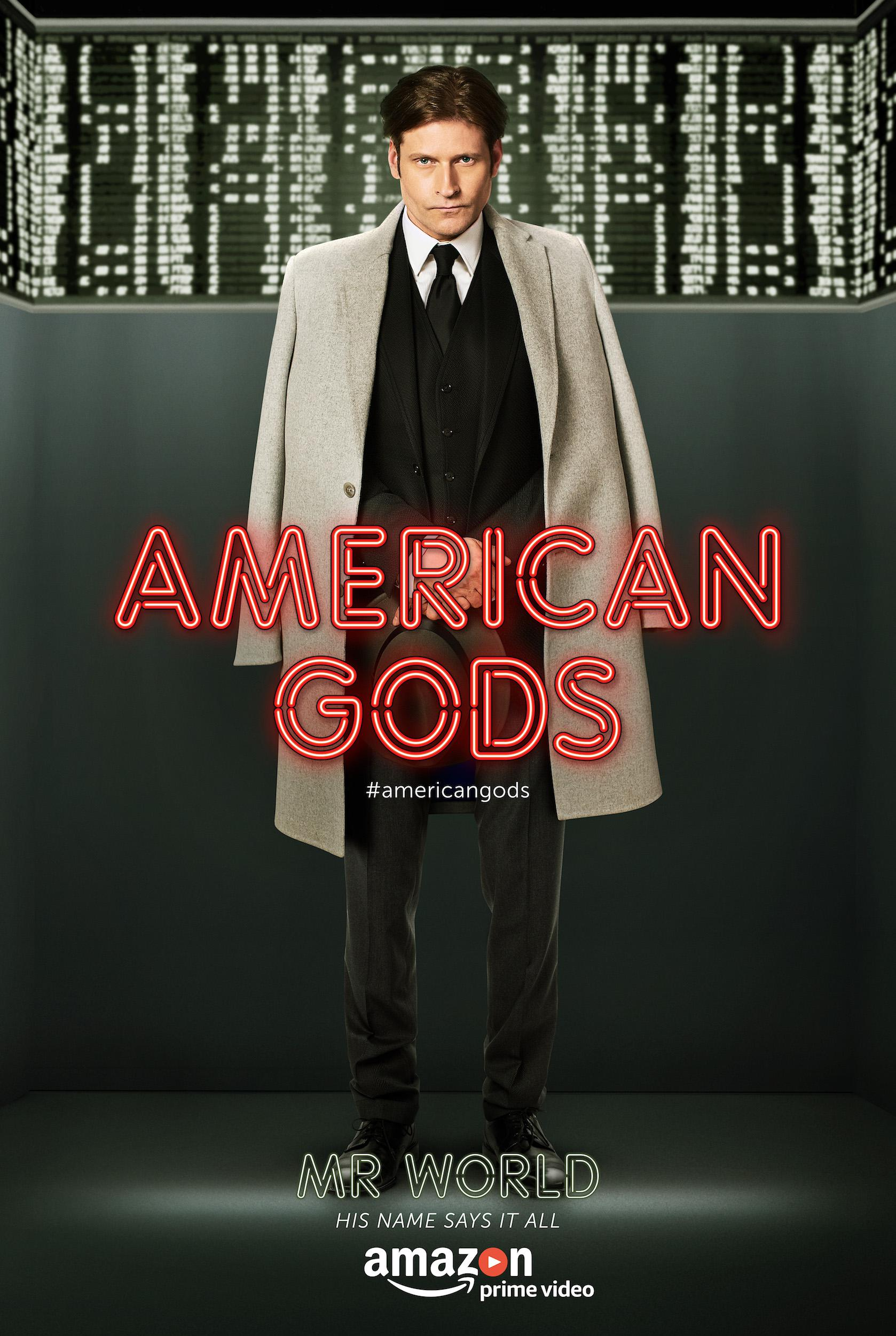 American Gods - Series - Crispin Glover as Mr. World