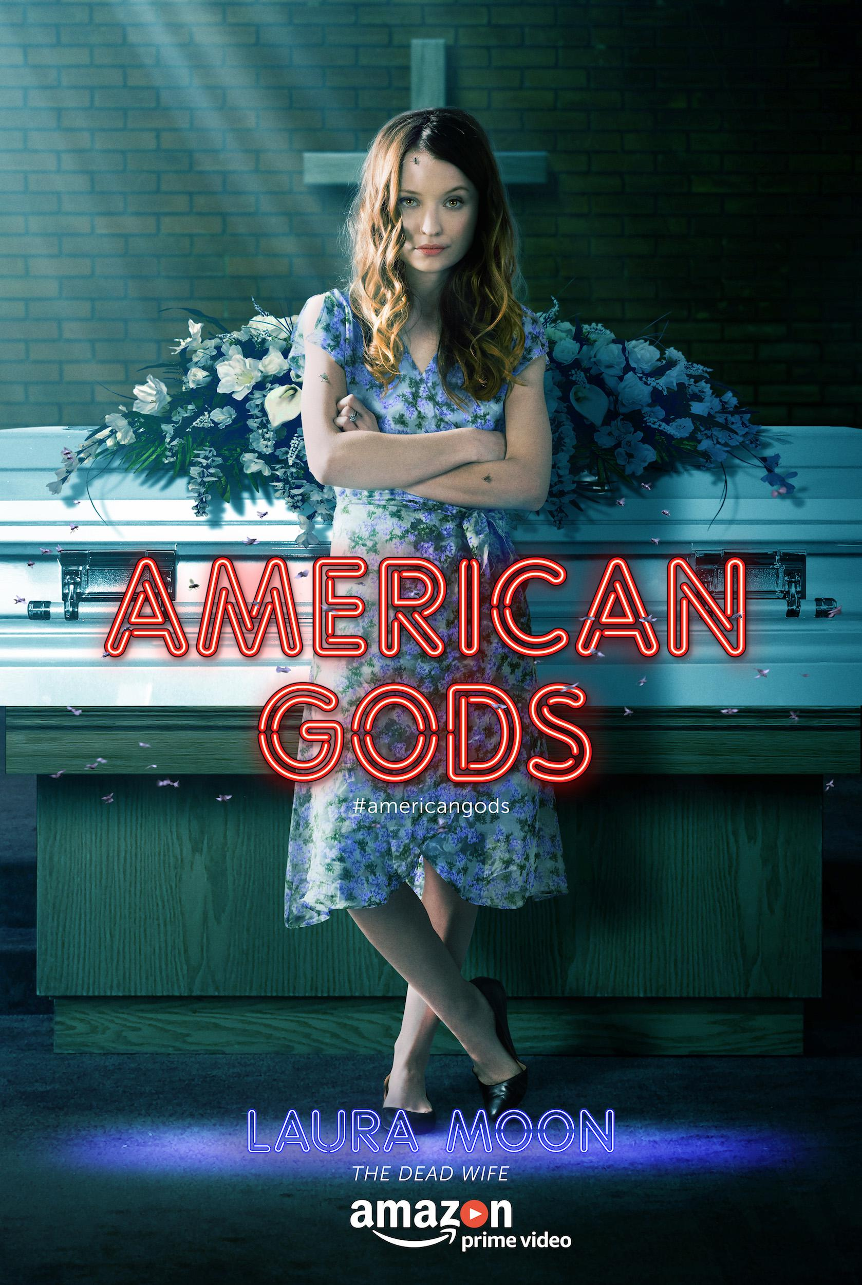 American Gods - Series -  Emily Browning as Laura Moon dead wife