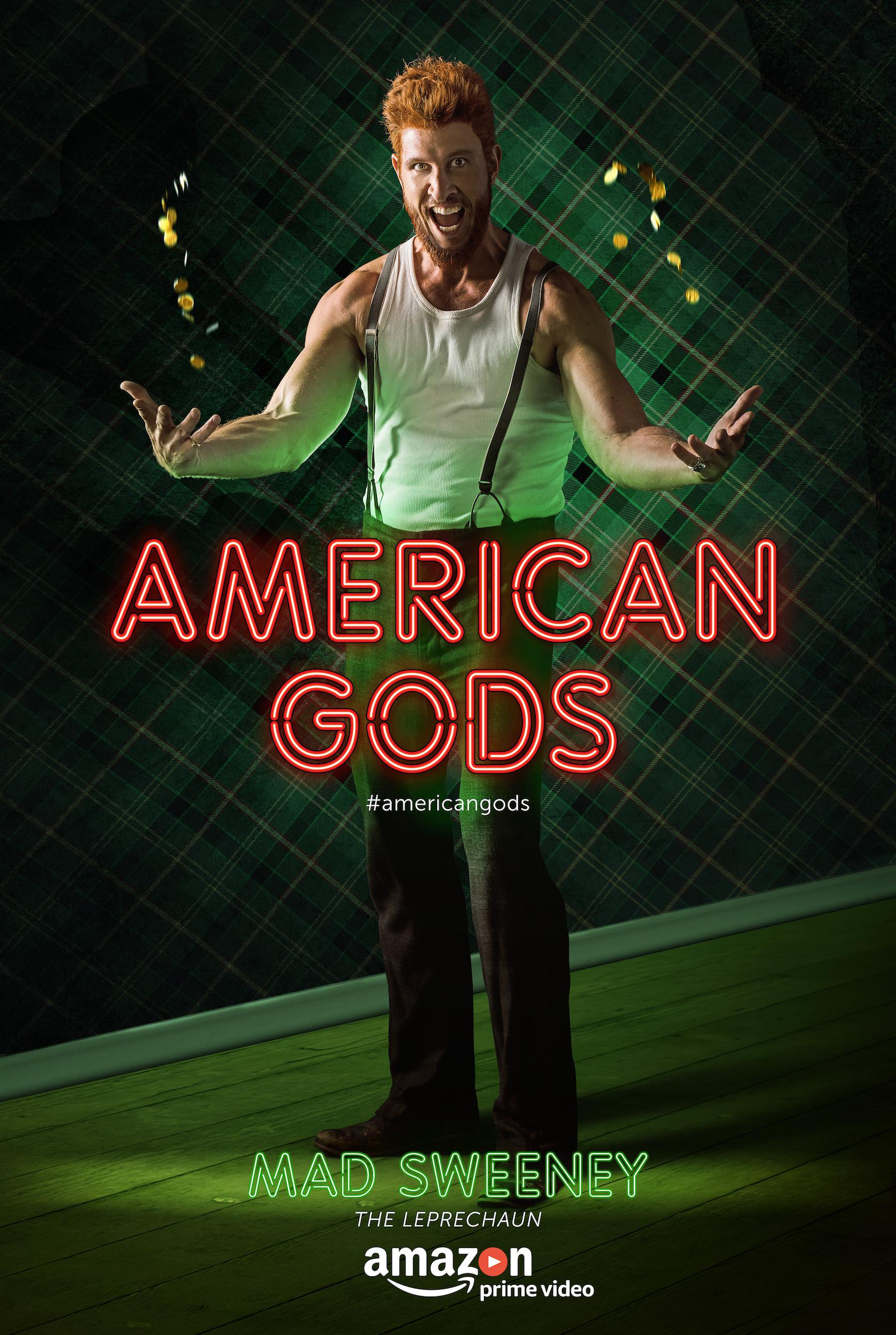 American Gods - Series - Pablo Schreiber as Mad Sweeney