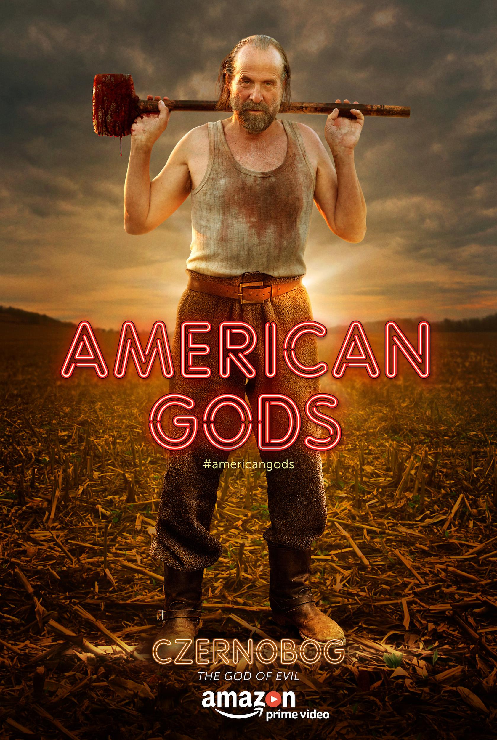 American Gods - Series - Peter Stormare as Czernobog - the god of evil