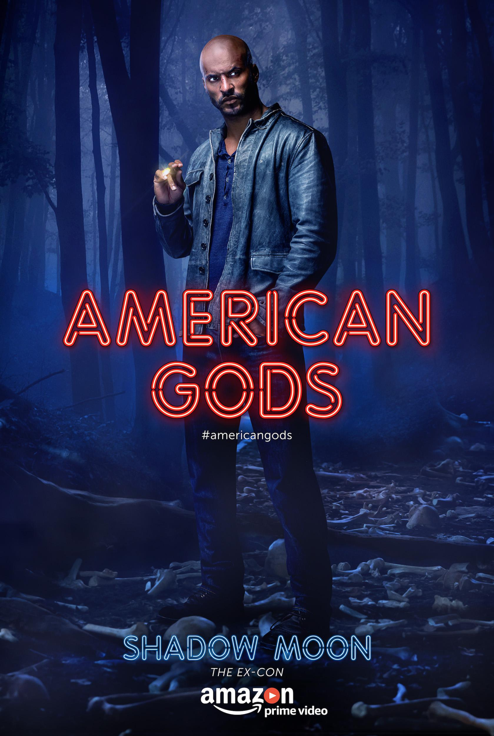 American Gods - Series - Ricky Whittle as Shadow Moon