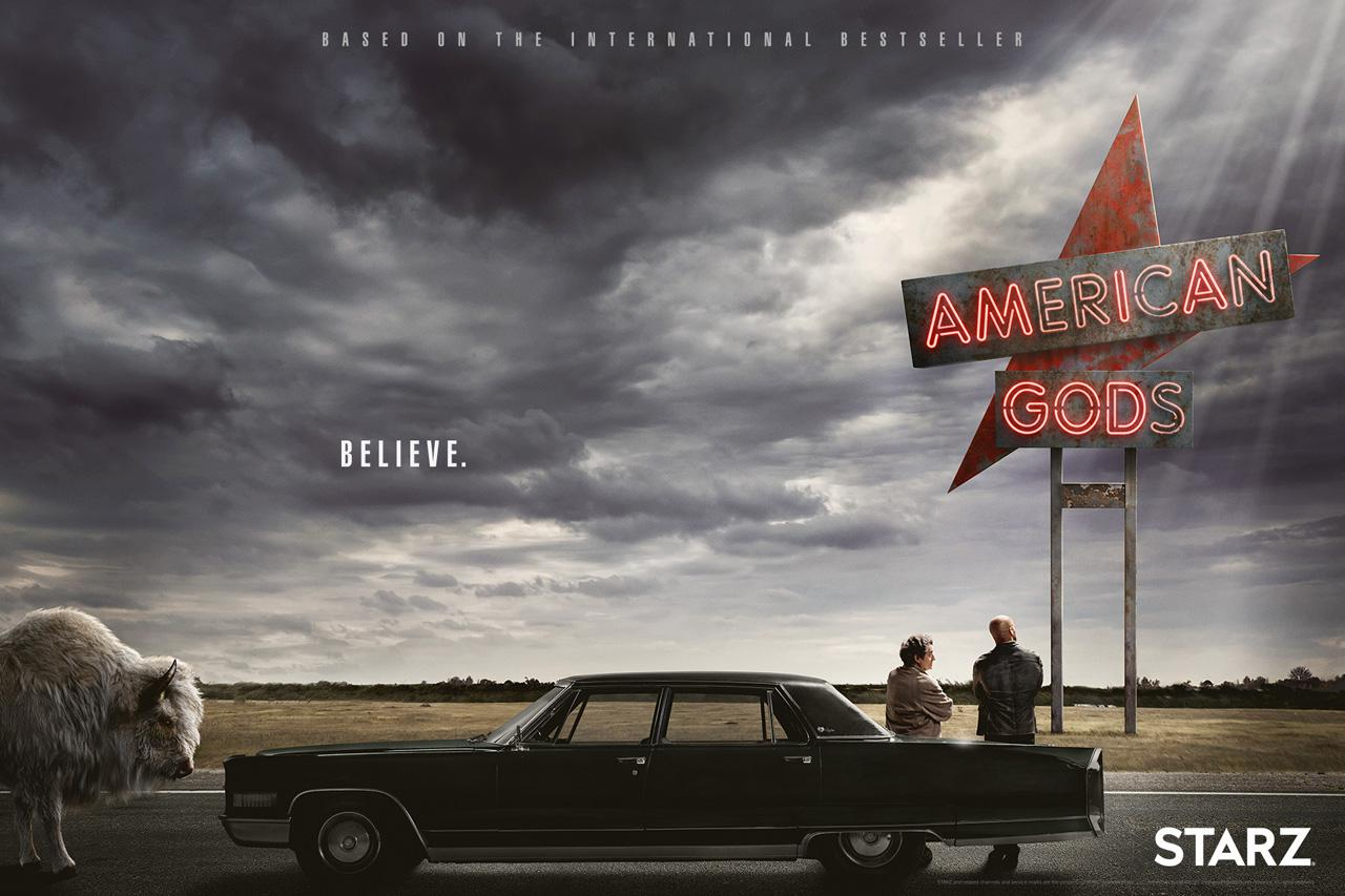American Gods - Series - poster