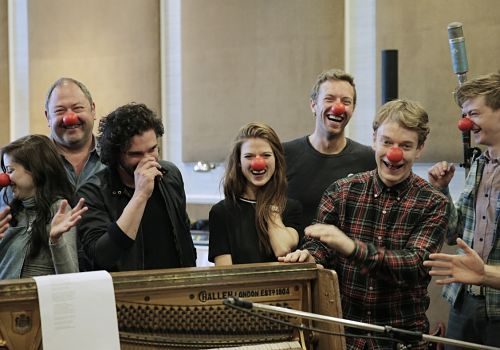 Musical Game of Thrones by Coldplay  with actors (Special for Red Nose Day on NBC)