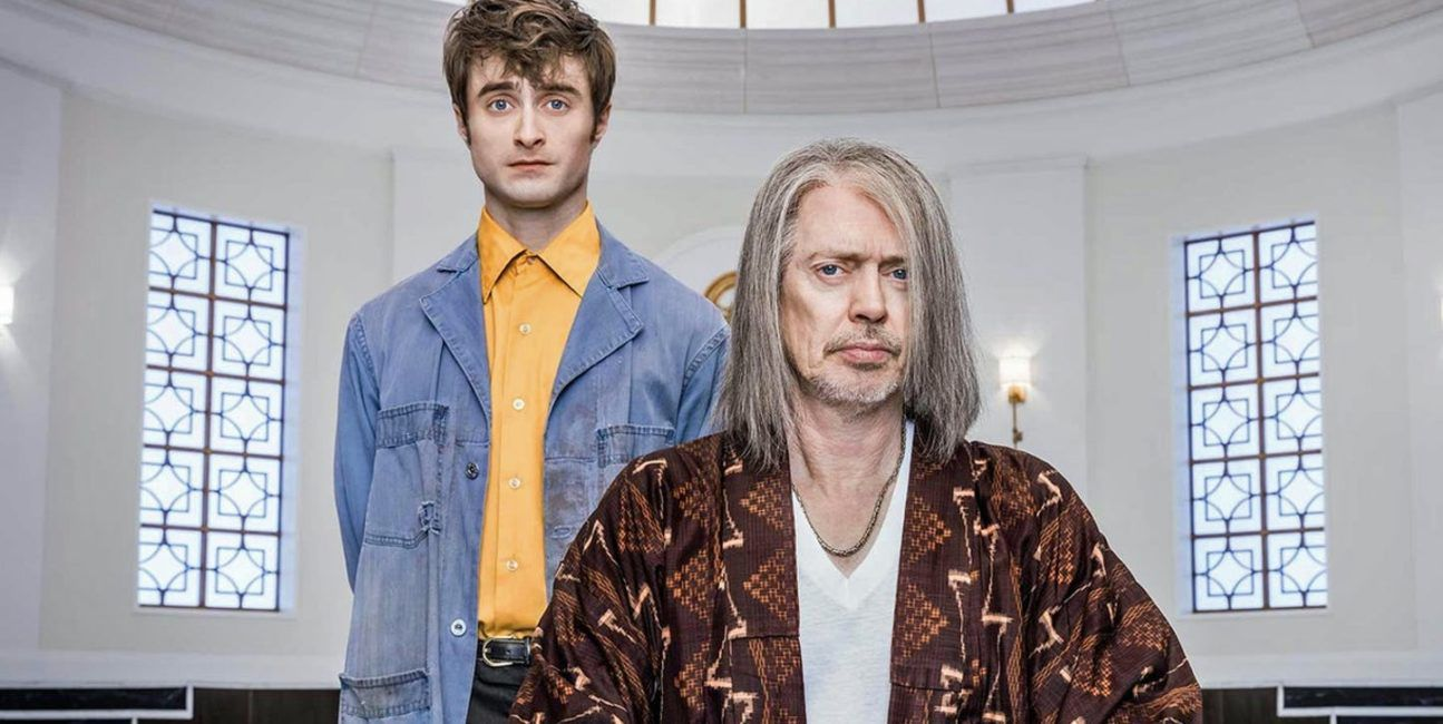 Miracle Workers series 2019 - Steve Buscemi is God and Daniel Radcliffe is an Angel