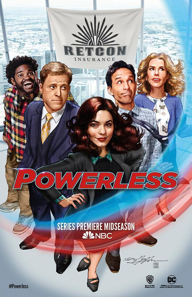Powerless - serie tv - series