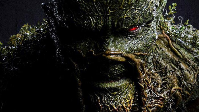 Swamp Thing the scary series