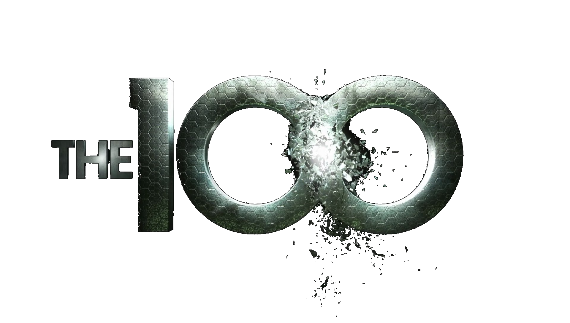 The 100 logo transparent