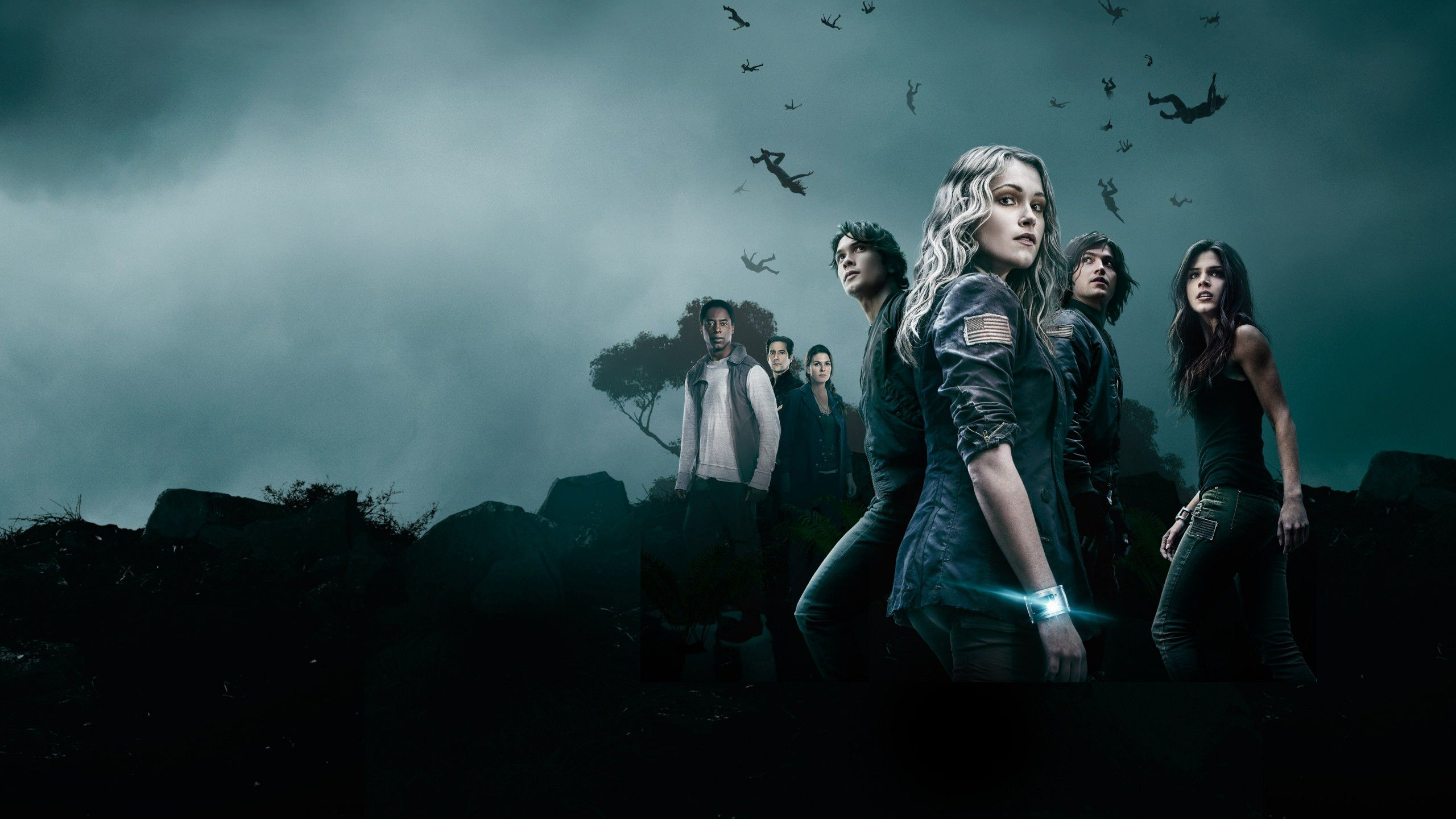 The 100 ... great science fiction post apocalyptic series