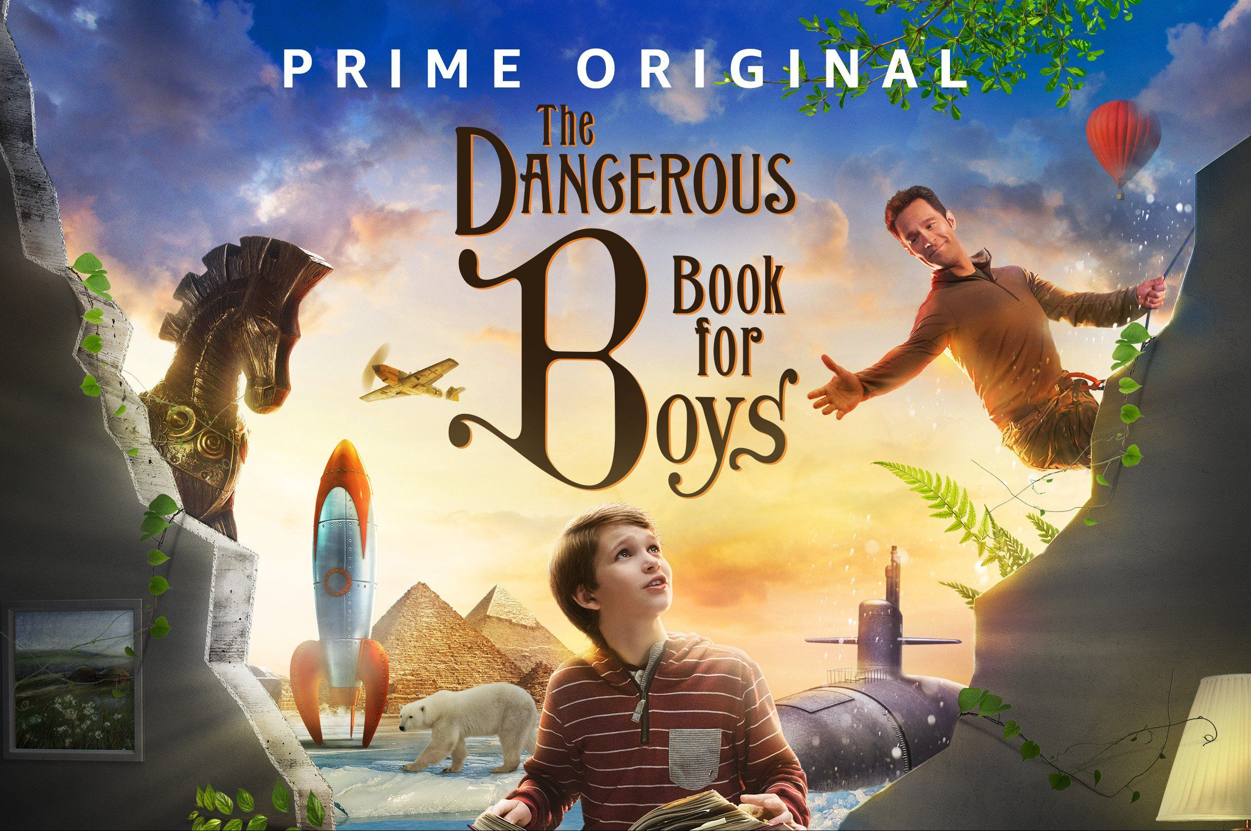 The Dangerous Book for Boys - Amazon Studios Prime series 2018