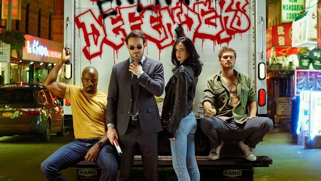 The Defenders - i Difensori - Iron Fist - Daredevil - Luke Cage - Jessica Jones