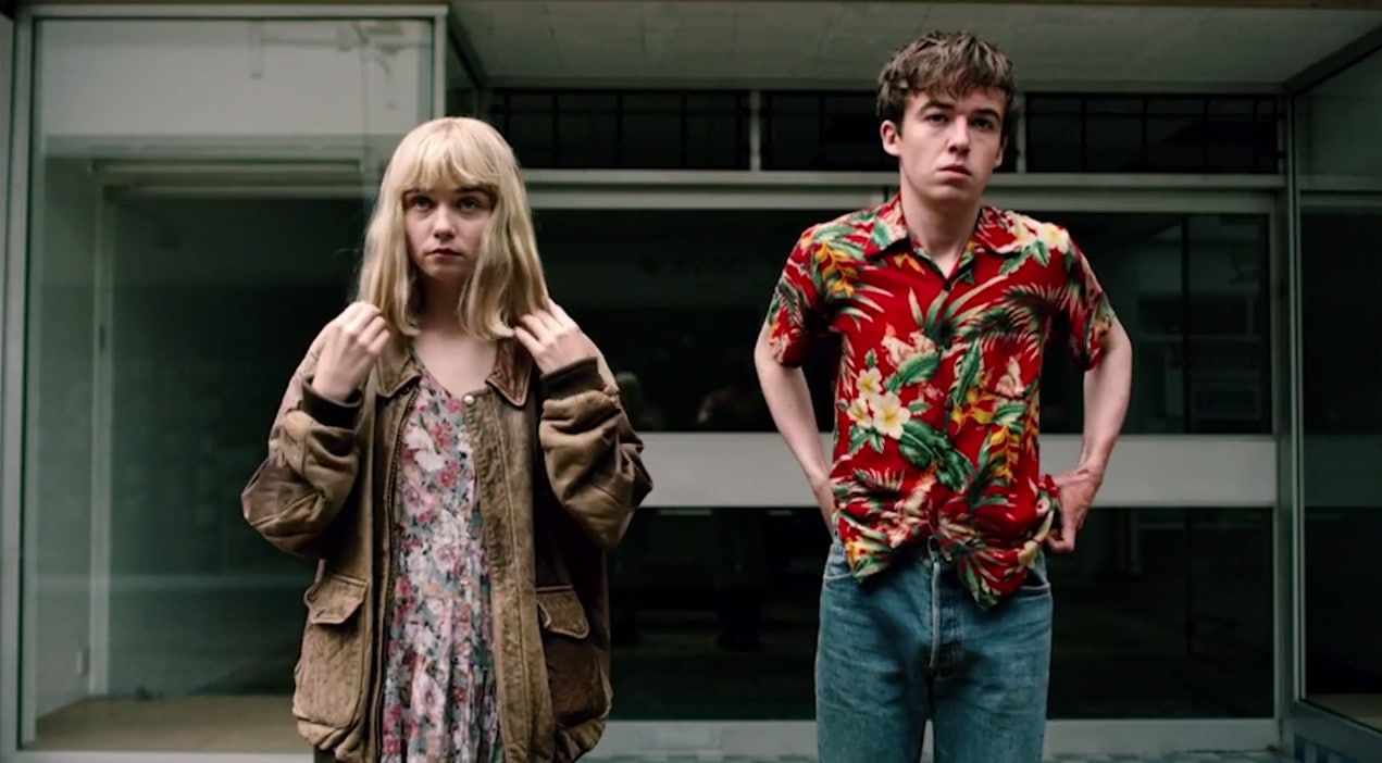 The End of the Fxxxking World - series -  Alex Lawther (James), Jessica Barden (Alyssa)