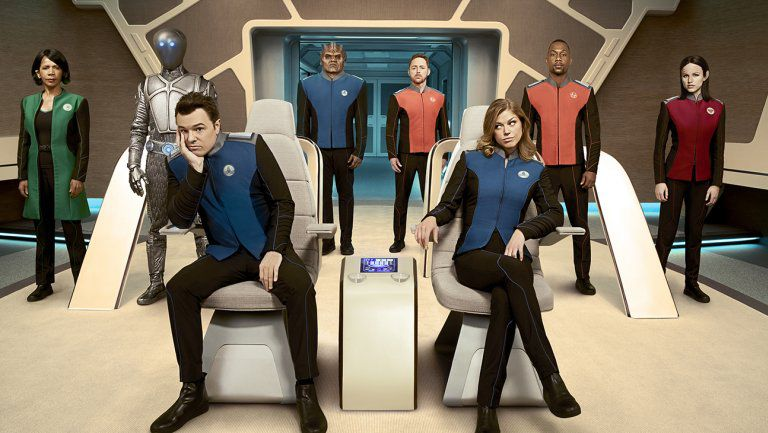 Telefilm - Series - The Orville - characters - officials - ufficiali - cast