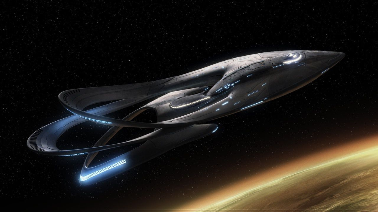 Telefilm - Series - The Orville - spaceship