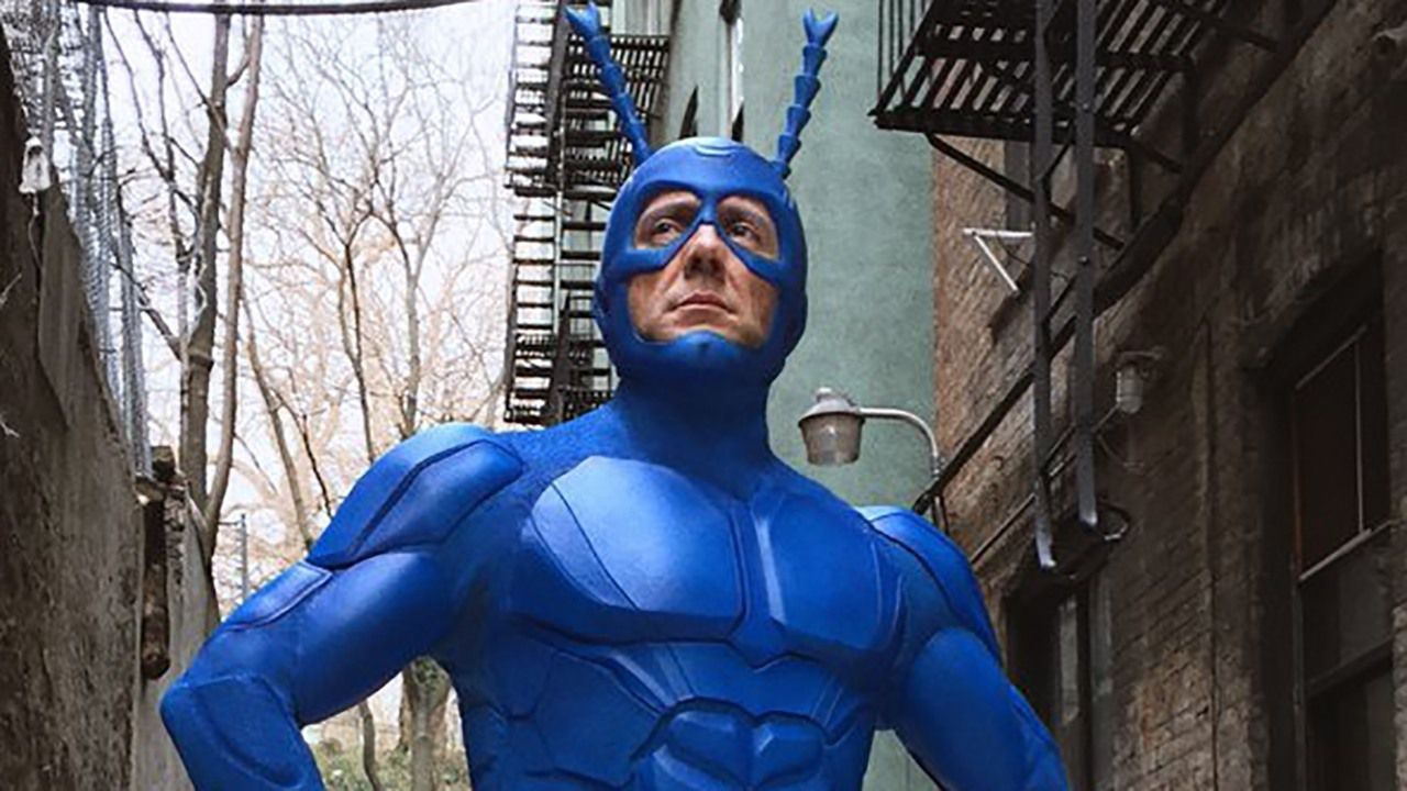 Telefilm - The Tick - super blue - scene - amazon prime series