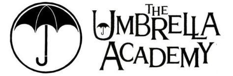 The Umbrella Academy Live Action Super Powers Series logo