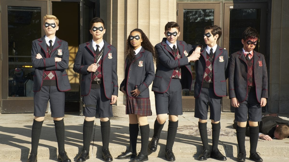 The Umbrella Academy Live Action Super Powers Series scene bank
