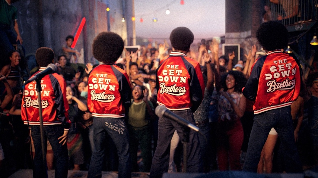 Telefilm - Serie - The Get Down - Rap Band contest - guerra tra bande musicali