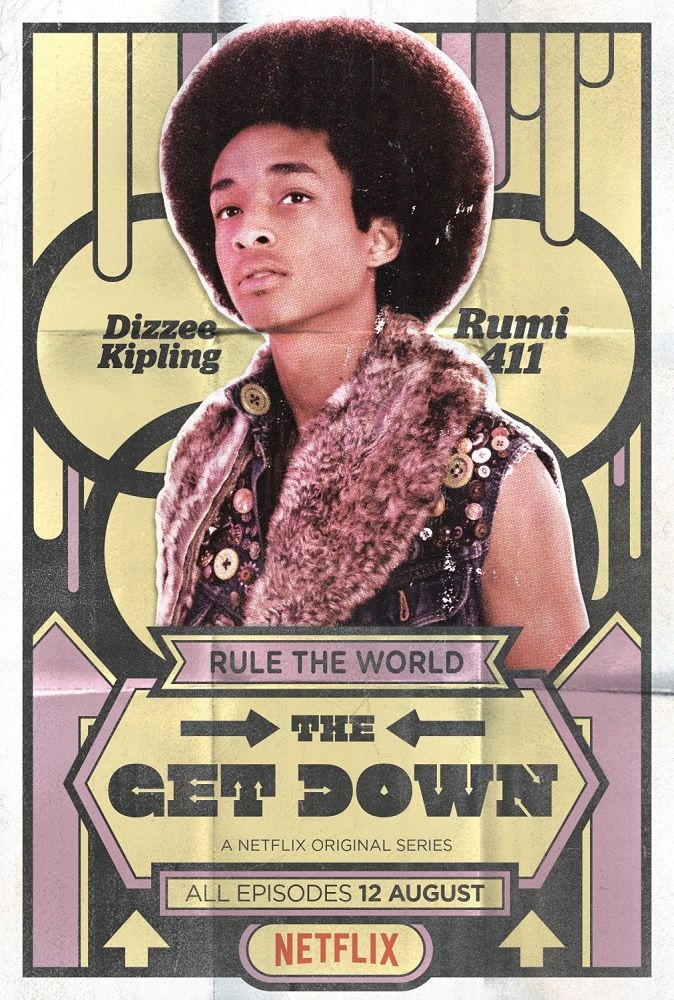 Telefilm - Serie - The Get Down - Best Music Story in New York  - Marcus Dizee Kipling - Rumi 411 the Writer (Jaden Smith)