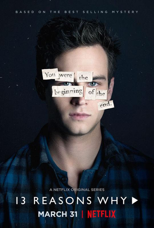 Tredici - Thirteen - 13 Reasons Why - Netflix series - Brandon Flynn - Justin Foley