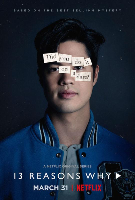 Tredici - Thirteen - 13 Reasons Why - Netflix series - Christian Navarro - Tony Padilla