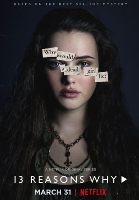 Tredici - Thirteen - 13 Reasons Why - Netflix series - Katherine Langford - Hannah Baker
