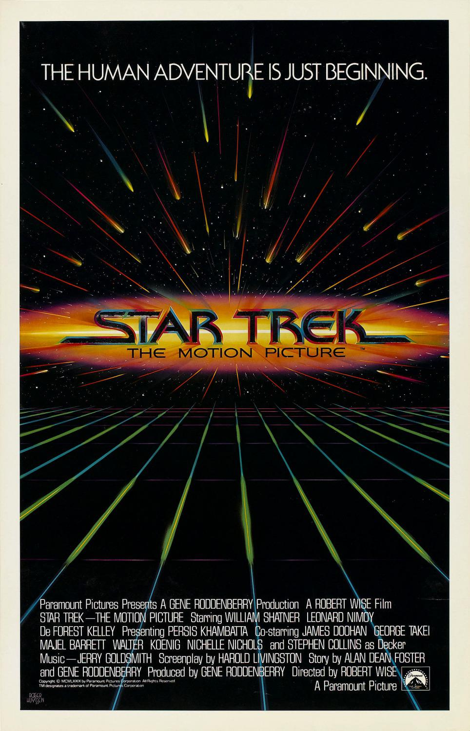Star Trek 1 - il Film - poster - the motion picture