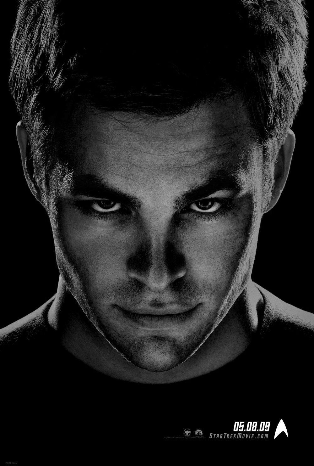 Star Trek  11 - Inizio - Begin  - Chris Pine - Cap. James T. Kirk