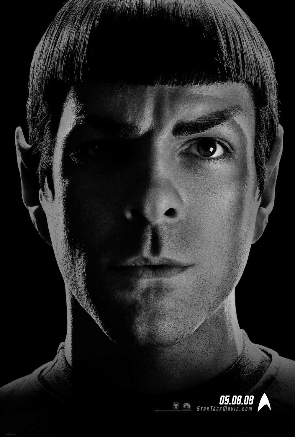 Star Trek  11 - Inizio - Begin - Zachary Quinto - Spock