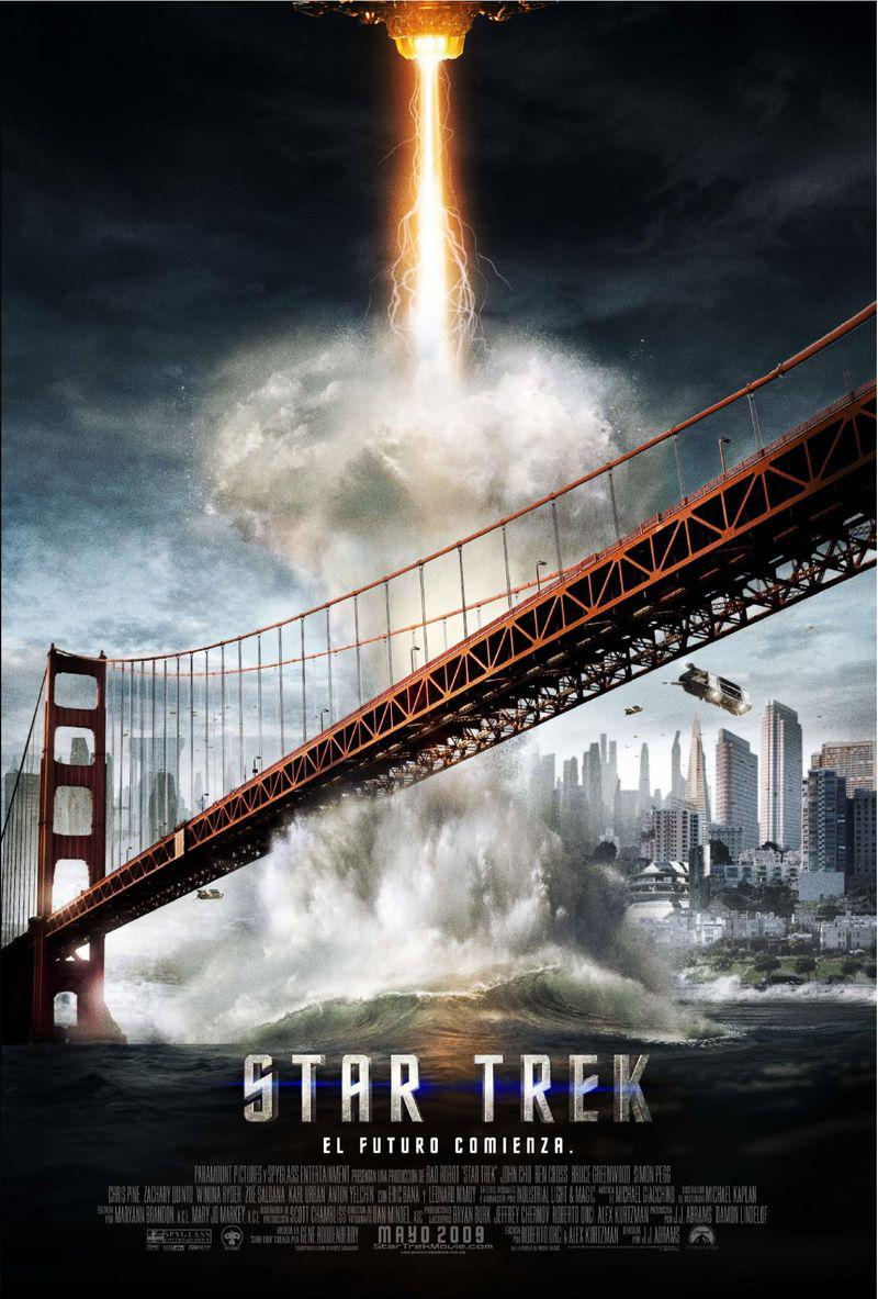 Star Trek  11 - Inizio - Begin - poster  - attack