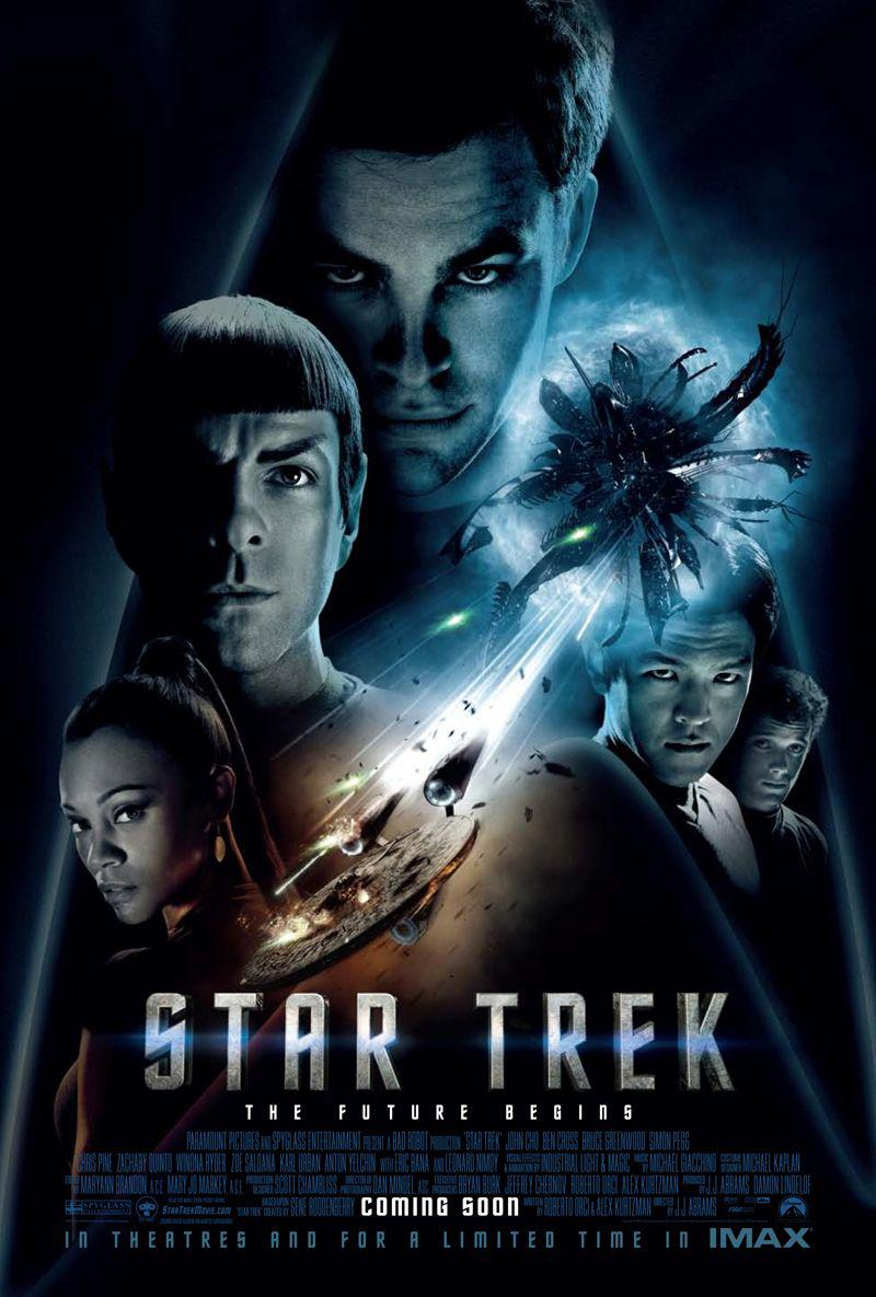 Star Trek  11 - Inizio - Begin - poster