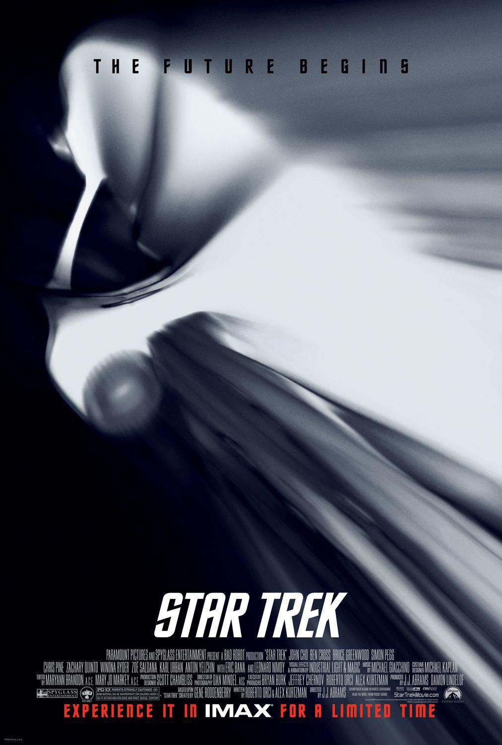 Star Trek  11 - Inizio - Begin - poster - Enterprise