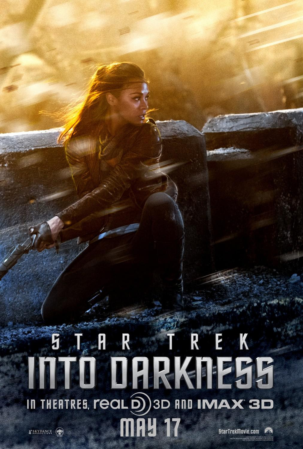 Star Trek 12 - Star Trek into Darkness - poster