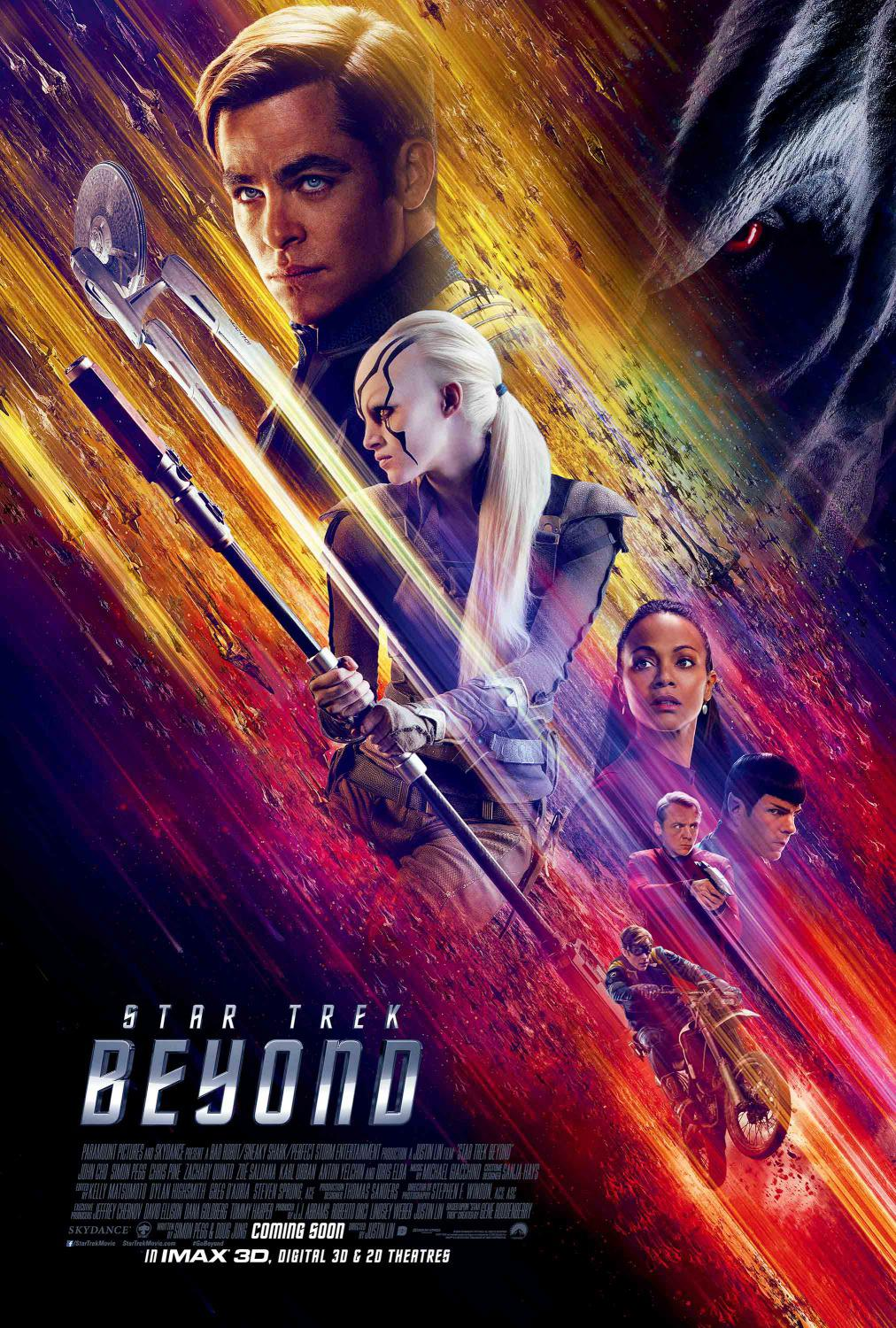 Film - Star Trek 13 - Beyond - poster