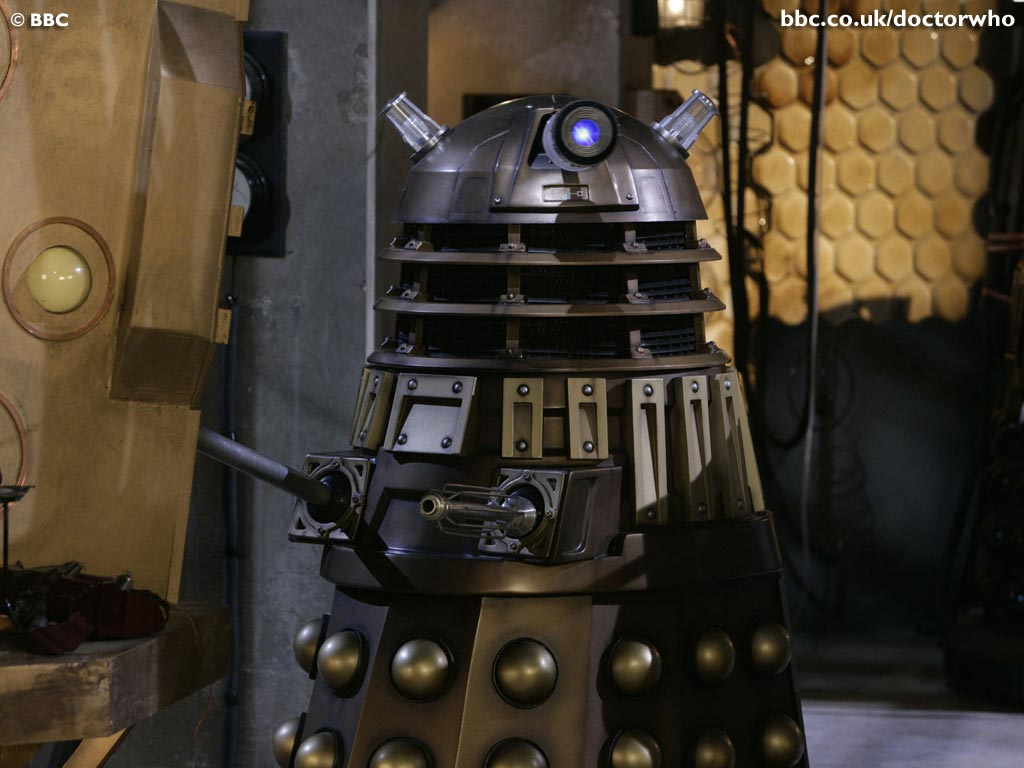 Doctor Who - 3x05 Evolution of the Daleks