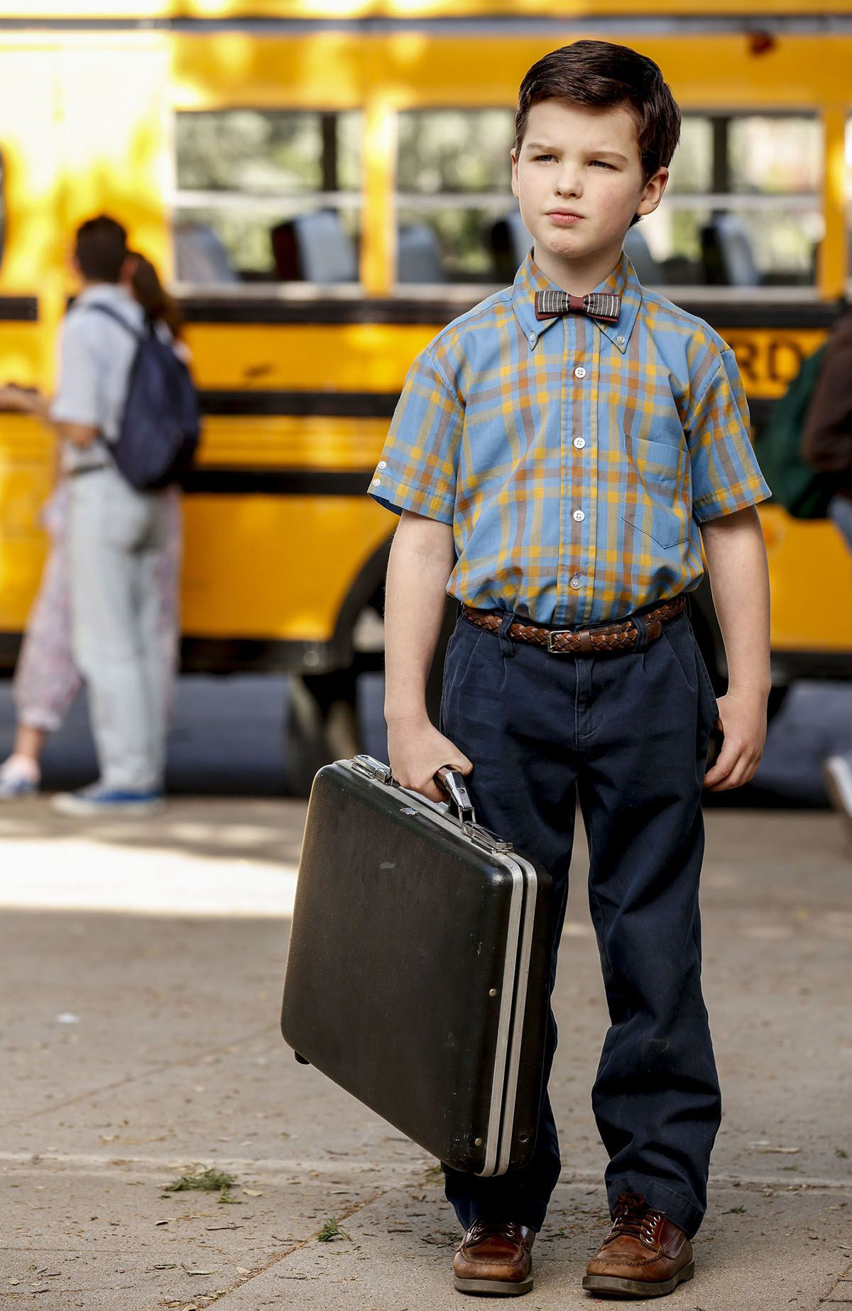 Young Sheldon - series - scene - first day at school
