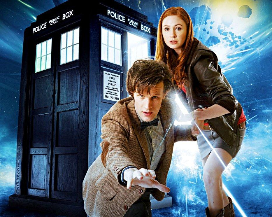 Doctor Who e Amy (Amelia) Pond