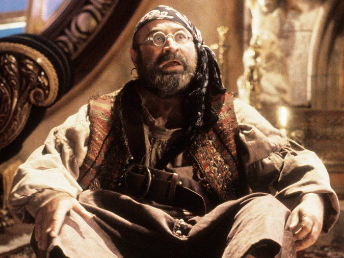 Bob Hoskins - Spugna - Mr. Smee in Hook