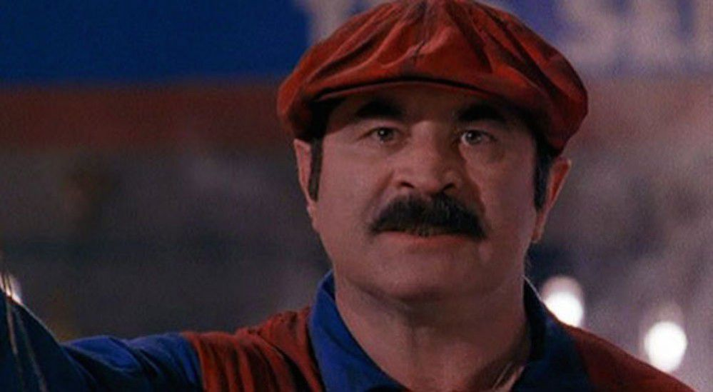 Bob Hoskins - Super Mario Bros live action