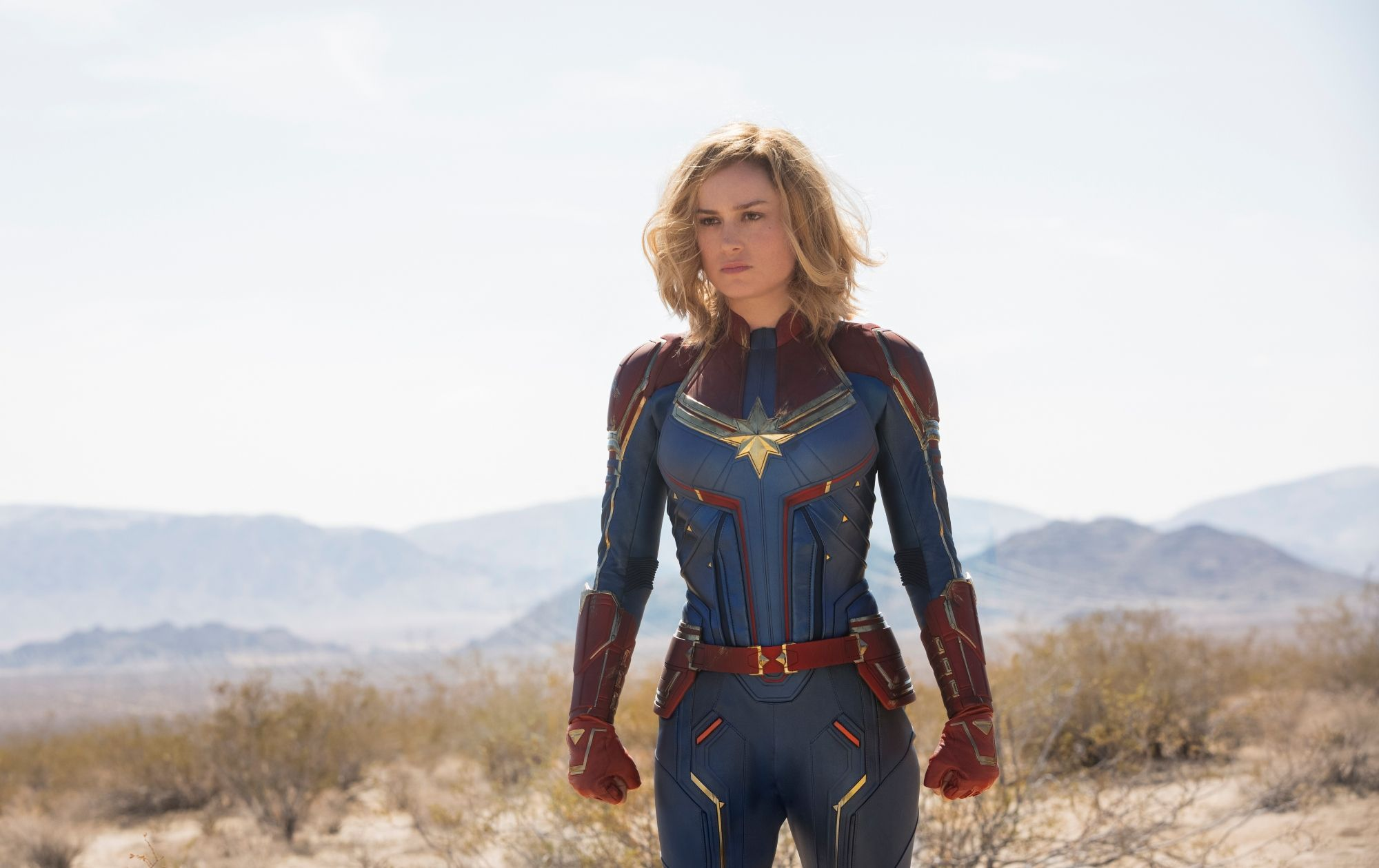 Brie Larson -  Captain Marvel (live action 2019)