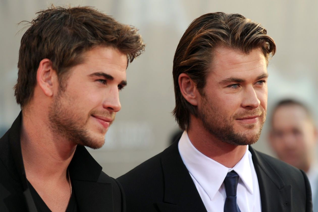 Chris and Liam Hemsworth (bros brothers)
