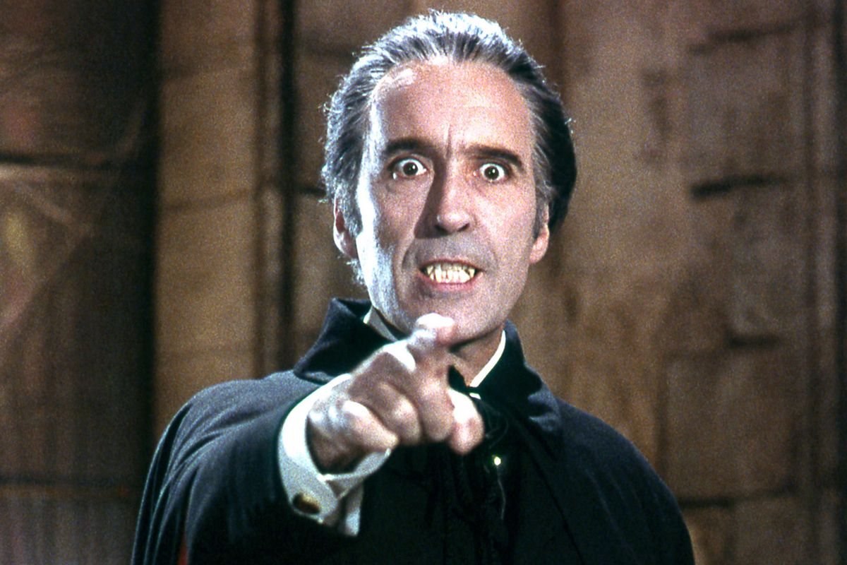 Christopher Lee (Classic 70's Dracula)