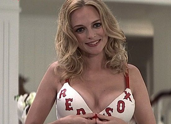 Heather Graham - Red Sox