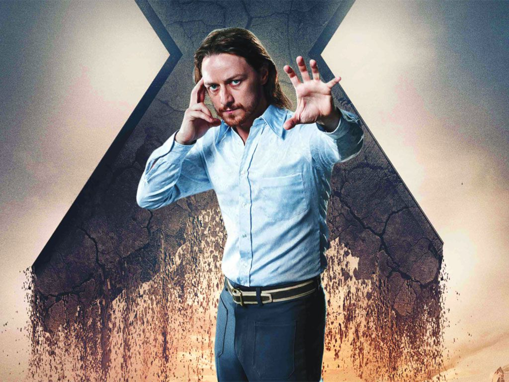 James McAvoy - Young Xavier - Professor X