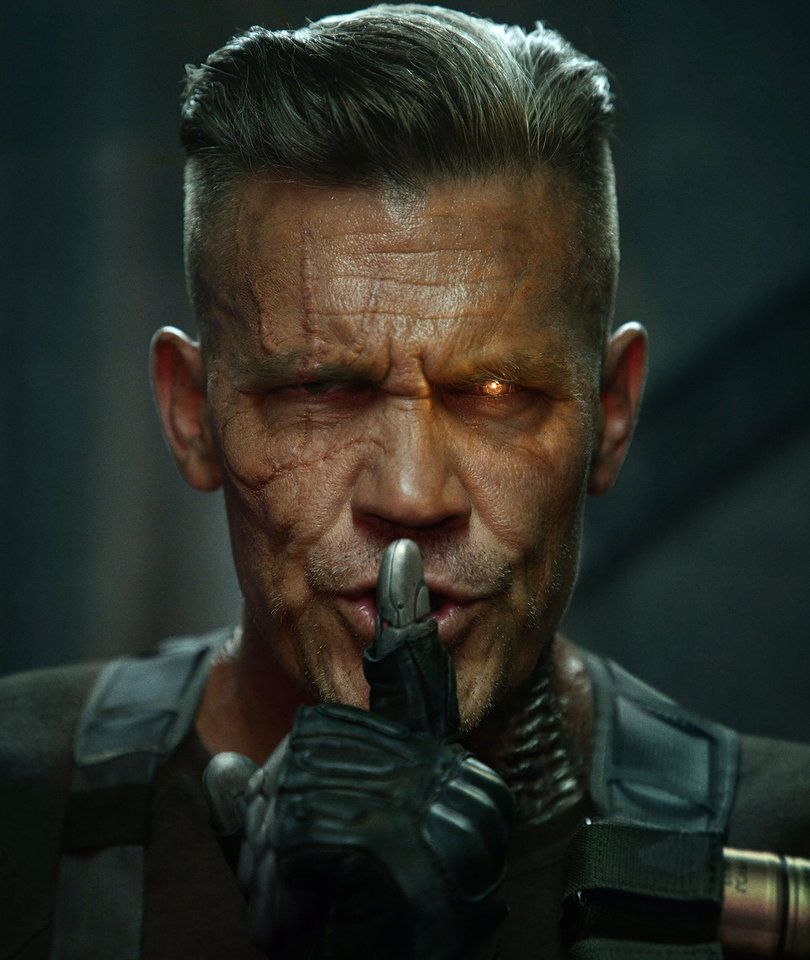 Josh Brolin - Grizzly in Deadpool 2 live action superhero evil enemy