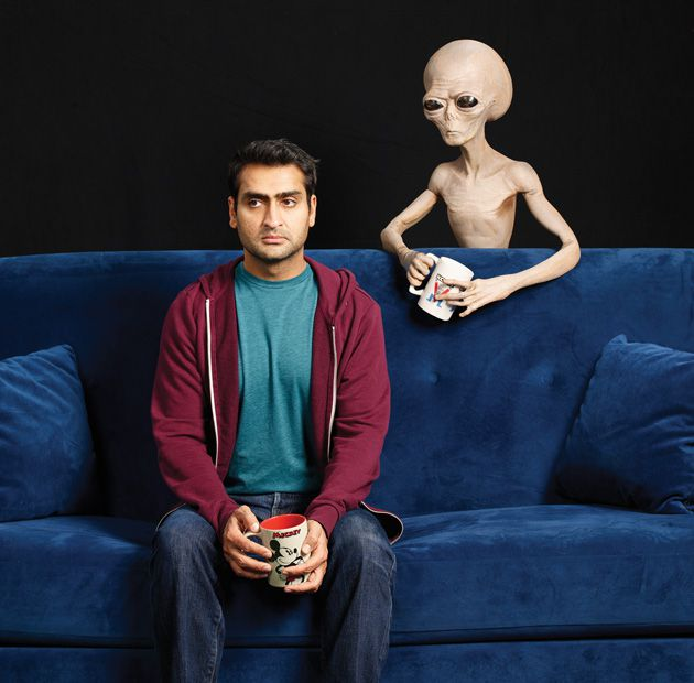 Kumail Nanjiani alien encounter