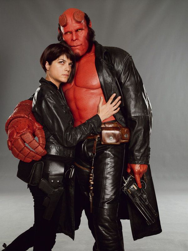 Ron Perlman - Hellboy with Selma Blair