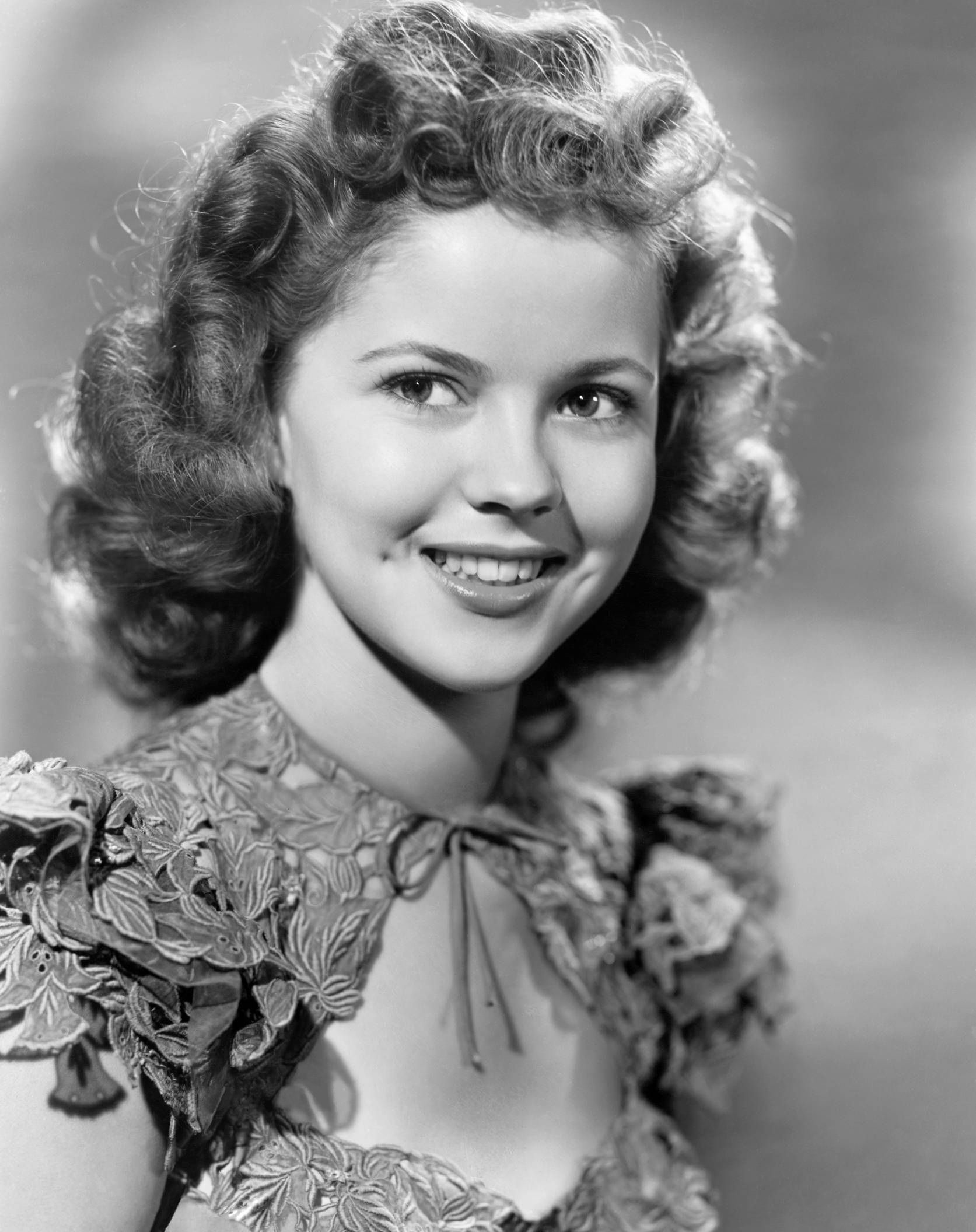Shirley Temple adolescent