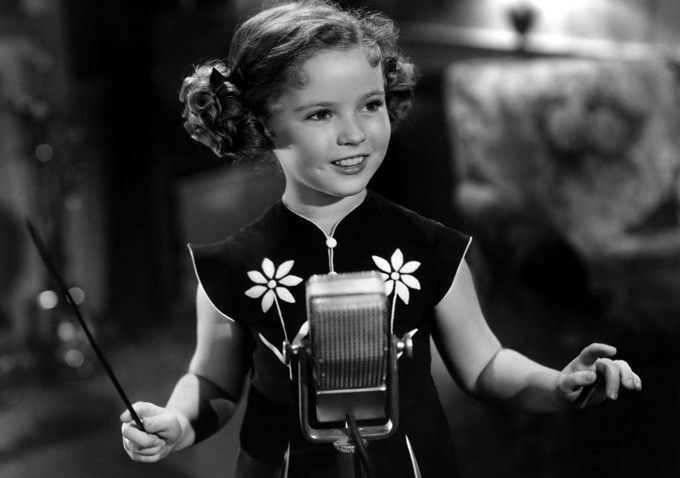 Shirley Temple - chinese dress