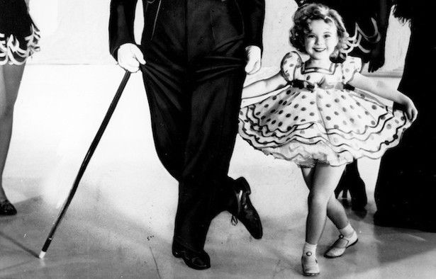 Shirley Temple dancing